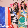 Miss International 2011 (Interview for TV program and Visiting farm Village Chengdu)