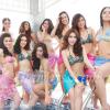 """""""มิสไทยแลนด์เวิลด์ 2012"""" ประชันโฉมชุดว่ายน้ำ 30 สาวงาม อวดหุ่นสวยริมสระ จ.เชียงใหม่"""