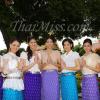กิจกรรมวันที่สอง มิสยูนิเวิร์สไทยแลนด์ 2012 ถ่าย VTR ประชาสัมพันธ์ สักการะหลวงพ่อใหญ่ พระพุทธชินราช