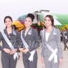 ถึงพิษณุโลกแล้ว! 44 สาวงาม มิสยูนิเวิร์สไทยแลนด์ 2012 บินนกแอร์ไปทำกิจกรรมเก็บตัว