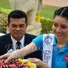 นางสาวไทย 2555 กิจกรรมวันที่สอง 18 สาวงามรักสิ่งแวดล้อม ฟื้นฟูพื้นที่ปลูกต้นสน