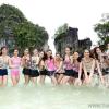 ถ่ายVTR ที่ทะเลแหวก หาดไร่เลย์ เกาะห้อง มิสยูนิเวิร์สไทยแลนด์ 2013 Miss Universe Thailand