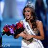 Erin Brady Miss Connecticut wins Miss USA 2013 in Las Vegas on Sunday night.